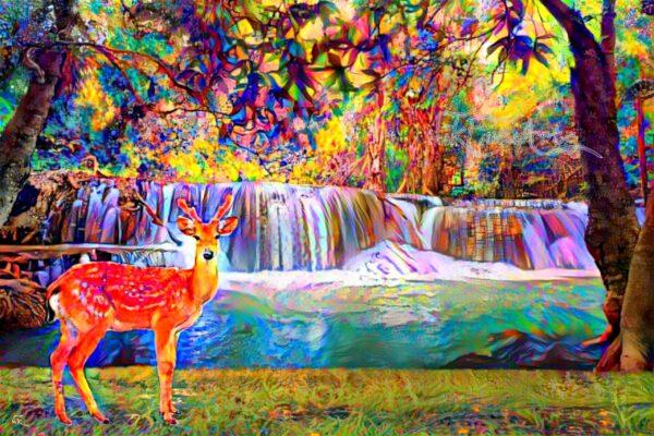deer painting for sale