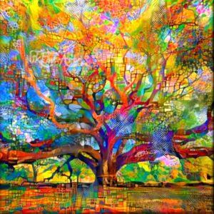 AMAZING COLORFUL TREE