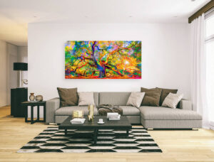 ANGEL OAK TREE - 2 canvas print