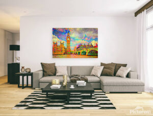 LONDON WESTMINSTER - canvas print