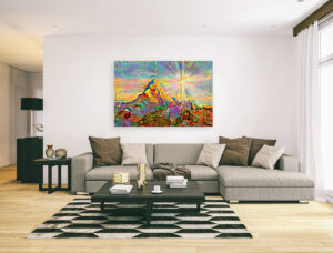 MOUNT EVEREST - canvas print