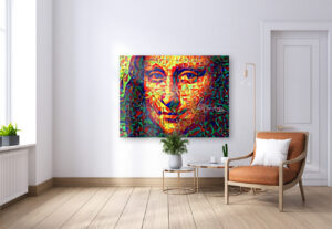 THE MYSTERIES AND SECRETS OF MONA LISA - canvas print